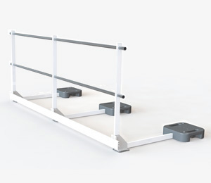 EdgePro free standing guard <span>rail</span>