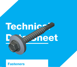 DrillFast® carbon steel fasteners datasheets