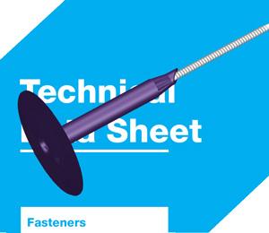 SureFast® flat roofing fastener system datasheets