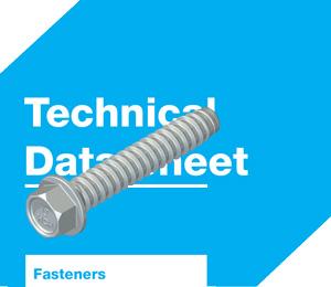 TapFast® HCR fasteners datasheets