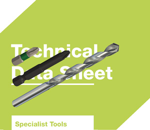 Drill bits and drive bits datasheets