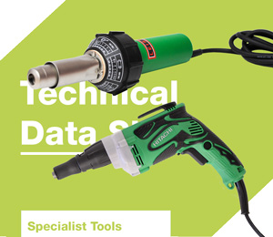 Power tools and accessories datasheets