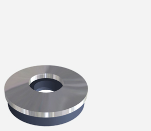 A4/316 grade stainless steel washer bonded with EPDM rubber