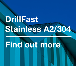 A2/304 DrillFast® Stainless - About the range