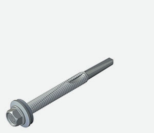 A2/304 stainless steel mainfix for steel 4.0 to 12.0mm thick