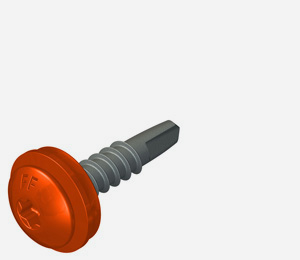 Carbon steel lacquered dual purpose fasteners for stitching and mainfix applications