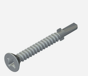 Carbon steel fasteners for timber to steel 1.5 to 3.0mm <span>thick</span>