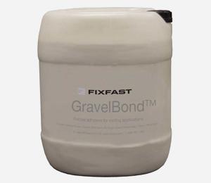 GravelBond adhesive for bonding gravel material on living <span>roofs</span>