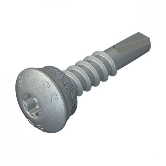 DrillFast® Stainless low profile mainfix fastener, S10 washer