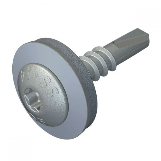 DrillFast® Stainless low profile mainfix fastener, S19 washer