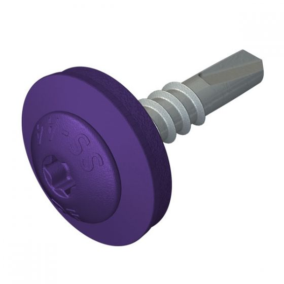 DrillFast® Lacquered low profile mainfix fastener, S19 washer