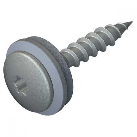 DrillFast® Stainless low profile timber fasteners,  A15 washer