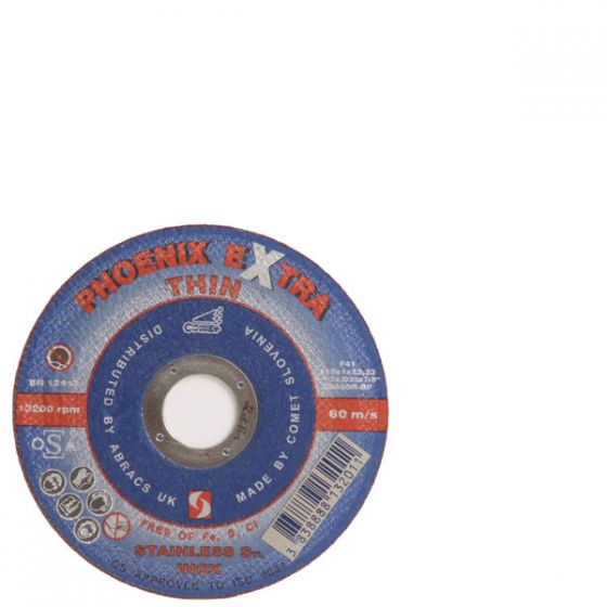 115mm metal cutting disc