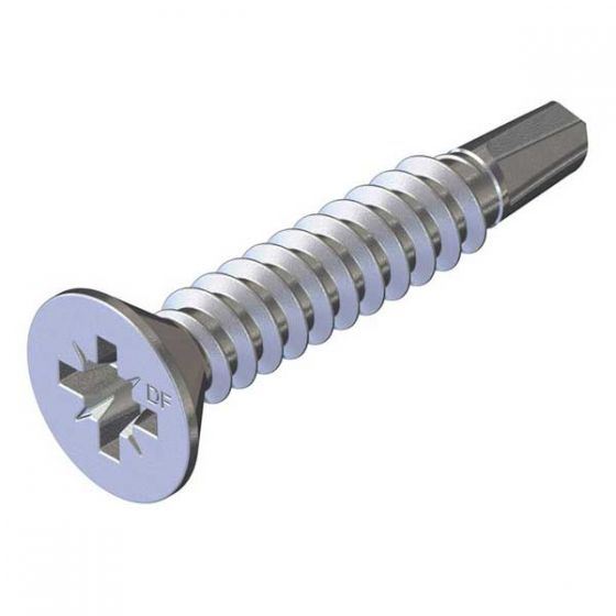 Countersunk fasteners for steel 1.2 - 3.0mm thick