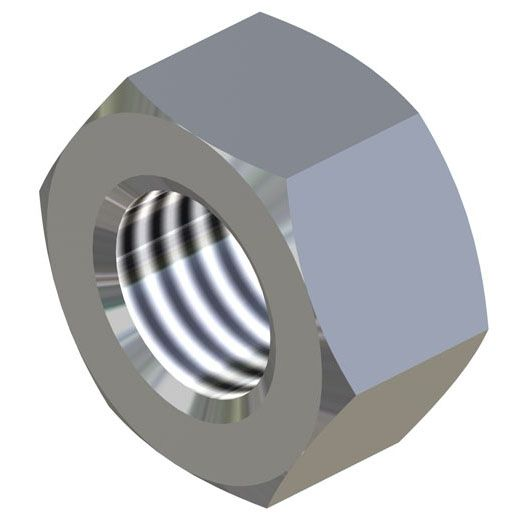 BZP Hex Nuts
