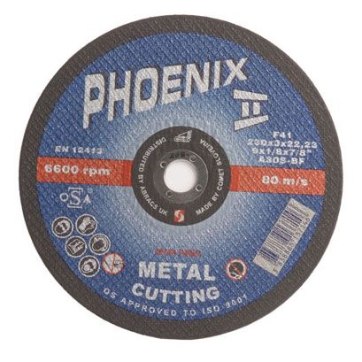 230mm standard metal cutting disc