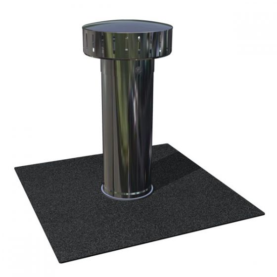 RyMar® vent with SBS membrane attachment