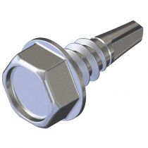 Hex head fasteners for steel 0.7 - 2.0mm thick