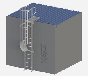 KATT® modular access ladder overview
