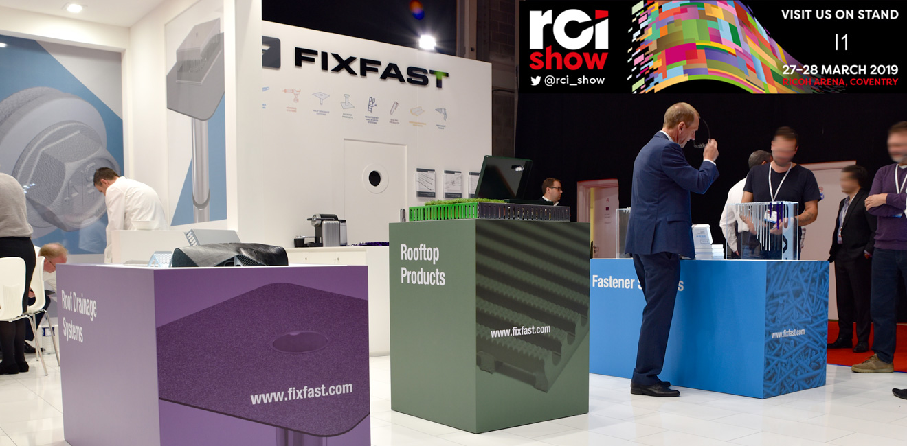 Fixfast are at the RCI show 2019