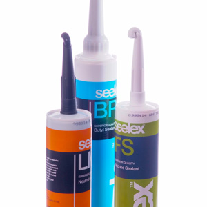 Cartridge sealants product range